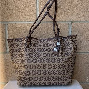 Giani Bernini Signature Print Tote Handbag